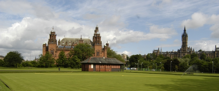 Kelvingrove Bowls Centre before renovation