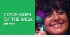 Clyde-sider of the week - Sue Weir