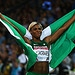 GLASGOW, SCOTLAND - JULY 28:  Blessing Okagbare...