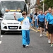 Batonbearer 011 Stuart Driscoll carries the Gla...