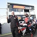 Stuart Gray, Knockhill Events Director, holds t...