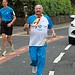 Batonbearer 007 Kenneth Wilson carries the Glas...