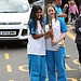 Batonbearer 055 Priya Gill hands the Glasgow 20...
