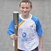 Batonbearer 018 Callum Smith carries the Glasgo...