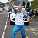 Batonbearer 005 Gilbert Valentine carries the G...