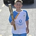 Batonbearer 017 Dylan Thomson carries the Glasg...