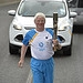 Batonbearer 026 William Russell carries the Gla...
