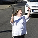 Batonbearer 019 Christine Getgood carries the G...