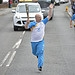 Batonbearer 020 Mark Williams carries the Glasg...